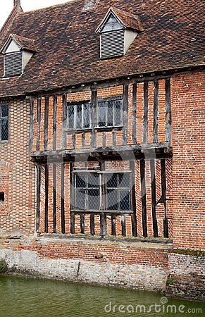 Tudor moat house