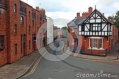 Tudor and Victorian style house