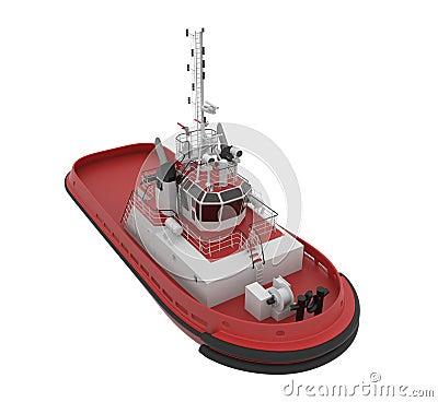 Tug boat.