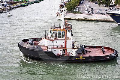 Tug Boat Editorial Stock Photo