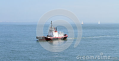 Tug Boat in the middle of nowhere