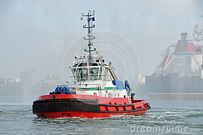 Tug in Rotterdam