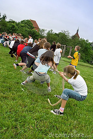 Tug of war Editorial Stock Image