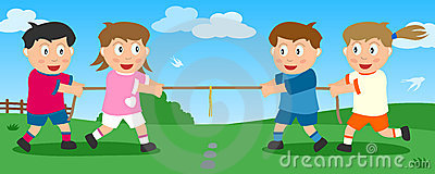 Tug of War in the Park