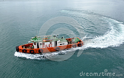 Tugboat Editorial Stock Photo