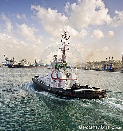 Free Tugboat Royalty Free Stock Photo - 8646195