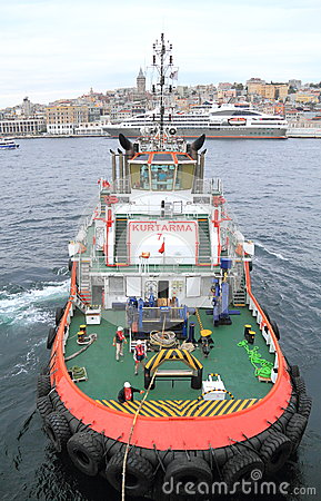Turkey/Istanbul: Tugboat  Editorial Image