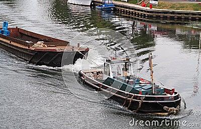 Tugboat on the River Thames