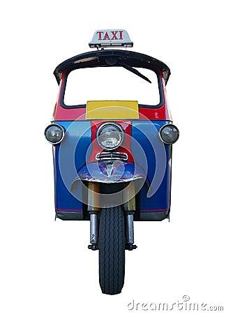 Free Tuk Tuk Car Isolated Stock Image - 91204631
