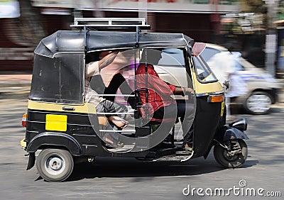 Tuk tuk from India