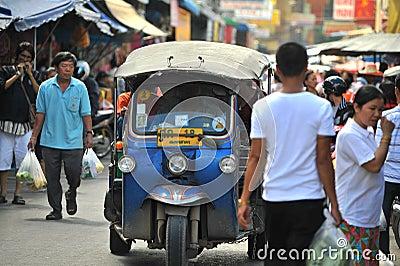 Tuk tuk taxi thailand Editorial Image
