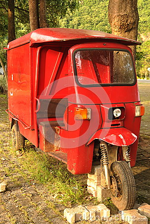 Tuk Tuk Three Wheeler Thailand