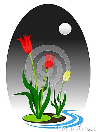 Free Tulip Art Stock Photo - 1611900