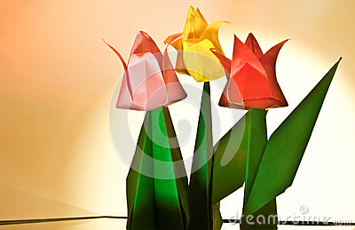Tulip Flower Craft