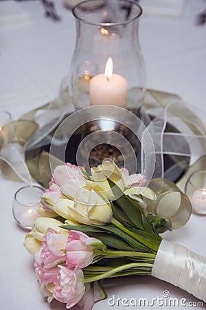 Tulip flowers bouquet, decoration