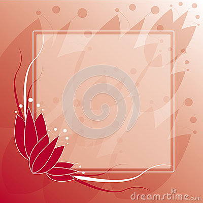 Tulip Frame Background