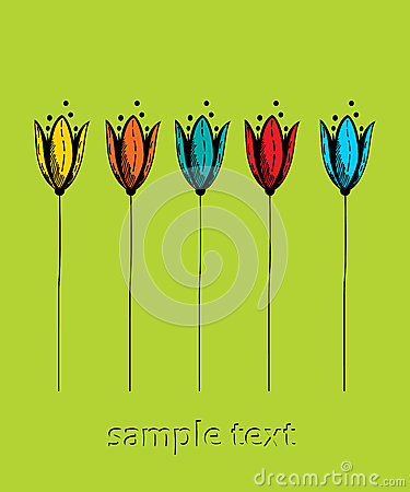 Tulip green card