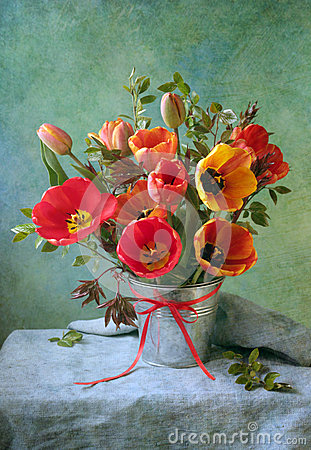 Free Tulips Stock Photography - 49490522