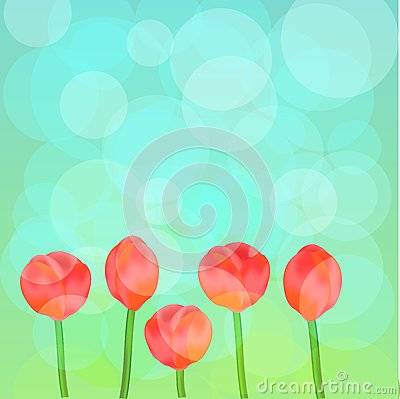 Tulips Background Royalty Free Stock Photos - Image: 23930588