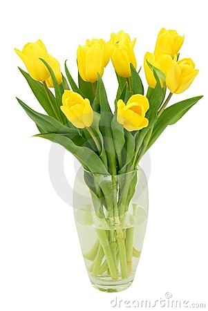 Free Tulips In A Vase Stock Image - 2306621