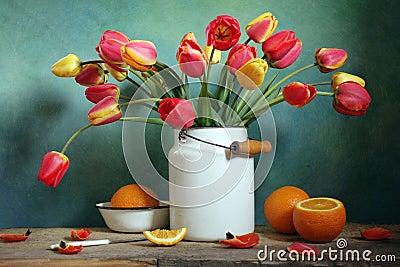 Tulips and oranges