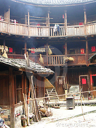 Free Tulou Life Stock Photography - 5694132