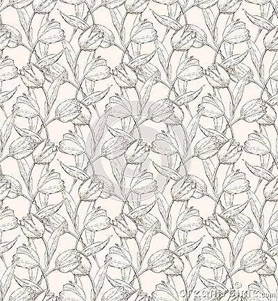 Tulps pattern 1