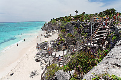 Tulum Beach Yucatan Mexico
