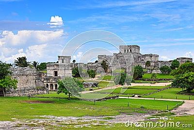 Tulum Maya ruins, Mexico