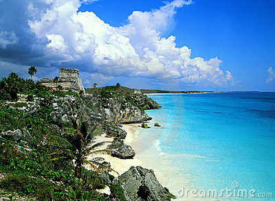 Tulum Mexico Mayan Ruins Stock Photos - Image: 2060353
