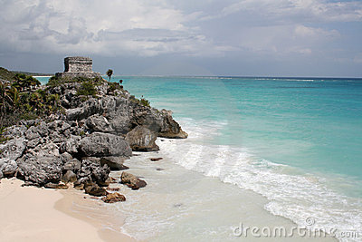 Tulum Ruin on a Hill