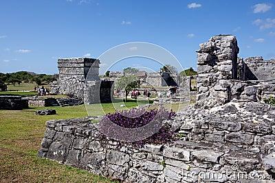 Tulum ruins Editorial Stock Image