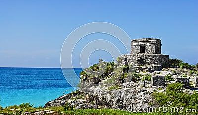 Tulum Ruins in Paradise