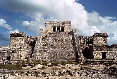 Tulum's Mayan temple