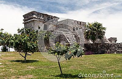 Tulum Temple Yucatan Mexico