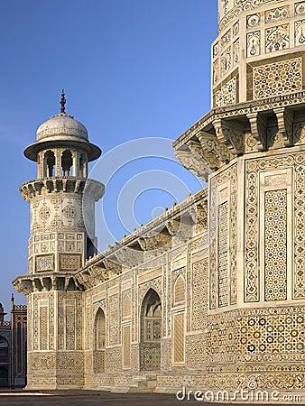 Tumba de Itimad Ud Daulah - Agra - la India