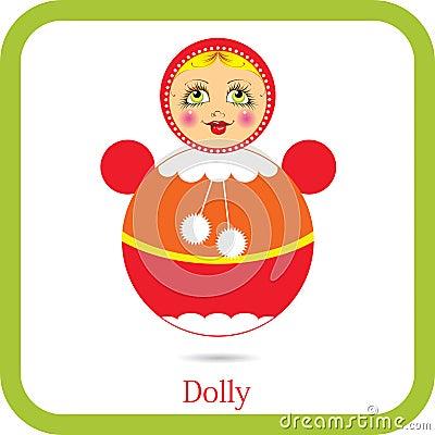 Tumbler toy doll
