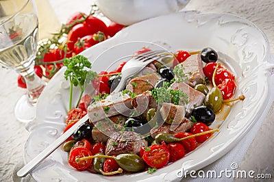Tuna messinese recipe