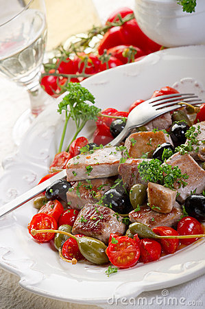 Tuna messinese recipe
