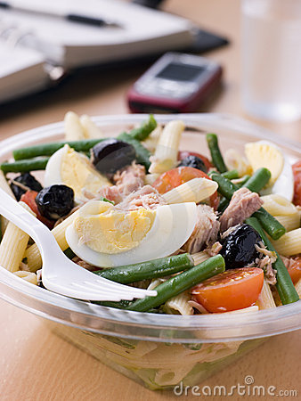 Free Tuna Pasta Nicoise Salad Royalty Free Stock Images - 6879149