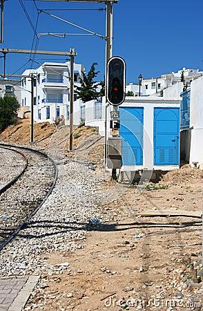 Tunis The railway