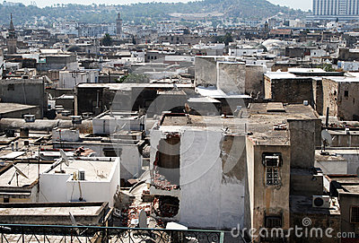 Tunis roofs