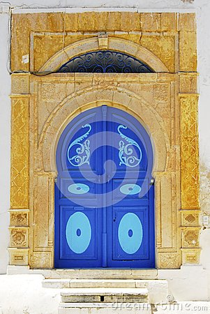 Tunisia doorway