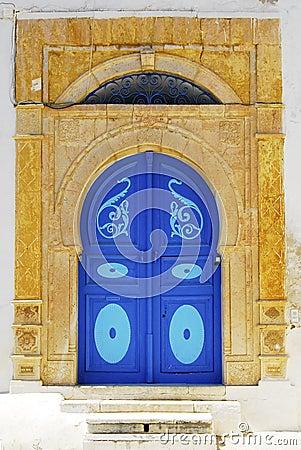 Tunisia doorway