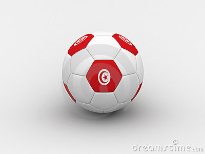 Tunisia soccer ball