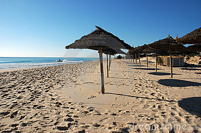 Tunisia - Yasmine Hammamet - beach