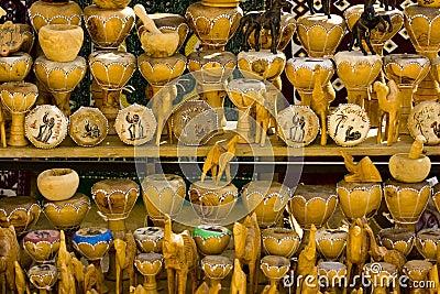 Tunisian bazaar trinkets