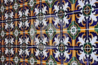 Tunisian ceramic tile