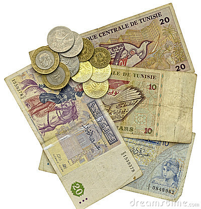 Free Tunisian Dinars Royalty Free Stock Photography - 6541097