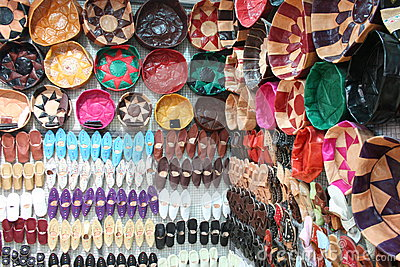 Tunisian Leather Souvenirs